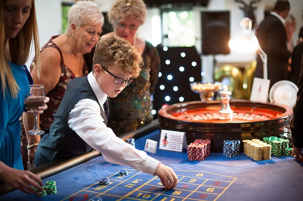Photo of casino themed party at The Old Vicarage