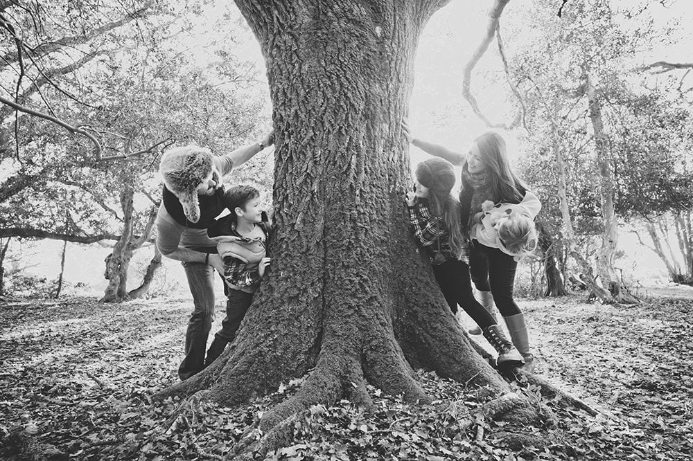Fun family photoshoot in the new forest by Rachel Elizabeth Photography