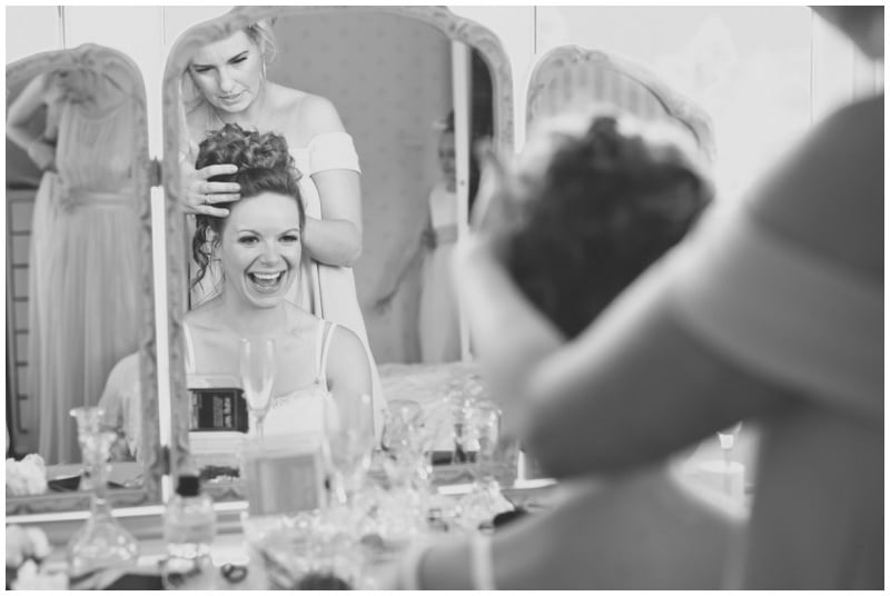 Black and white photograph by Ringwood Wedding Photographer