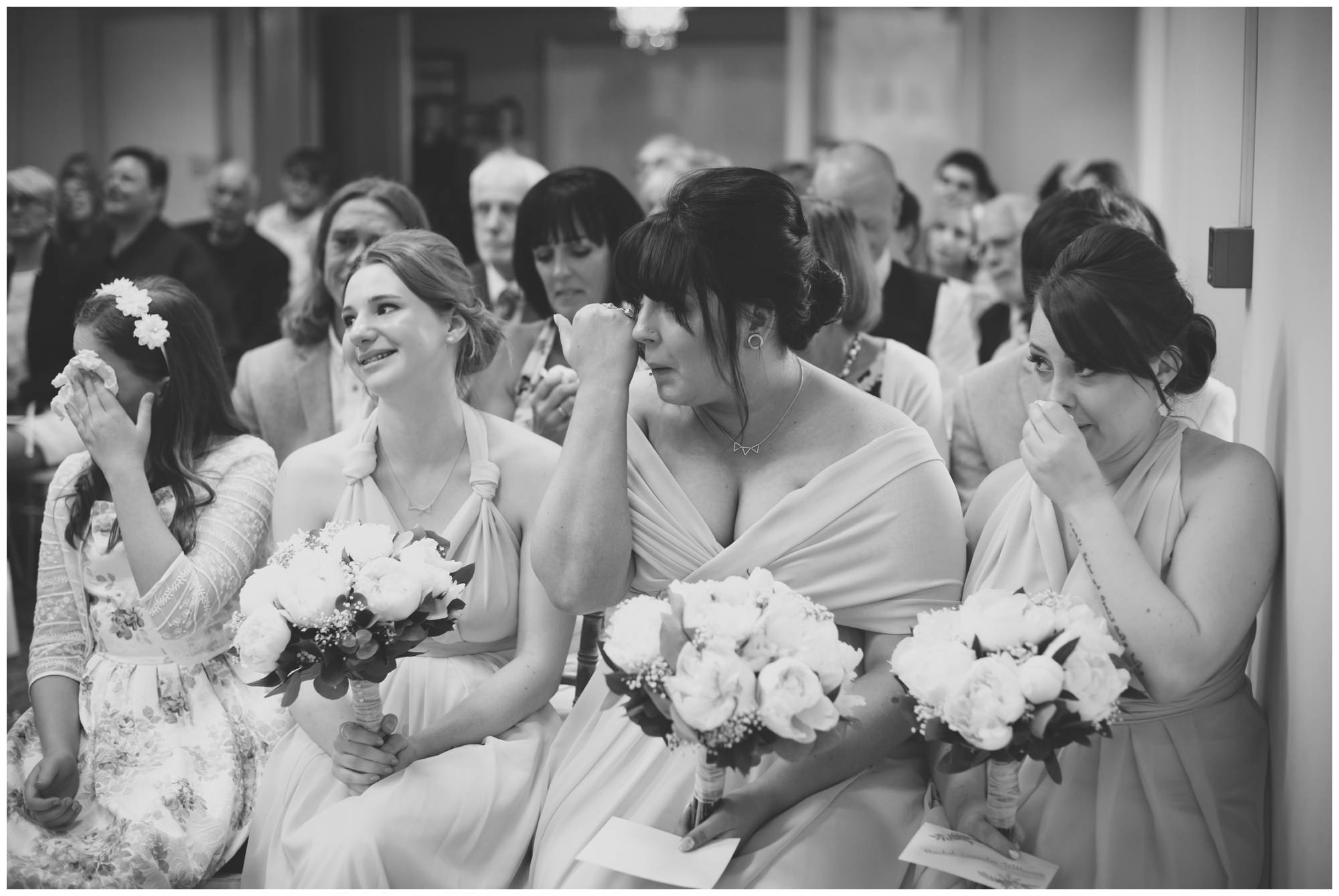 Bridesmaids at The Old Vicarage