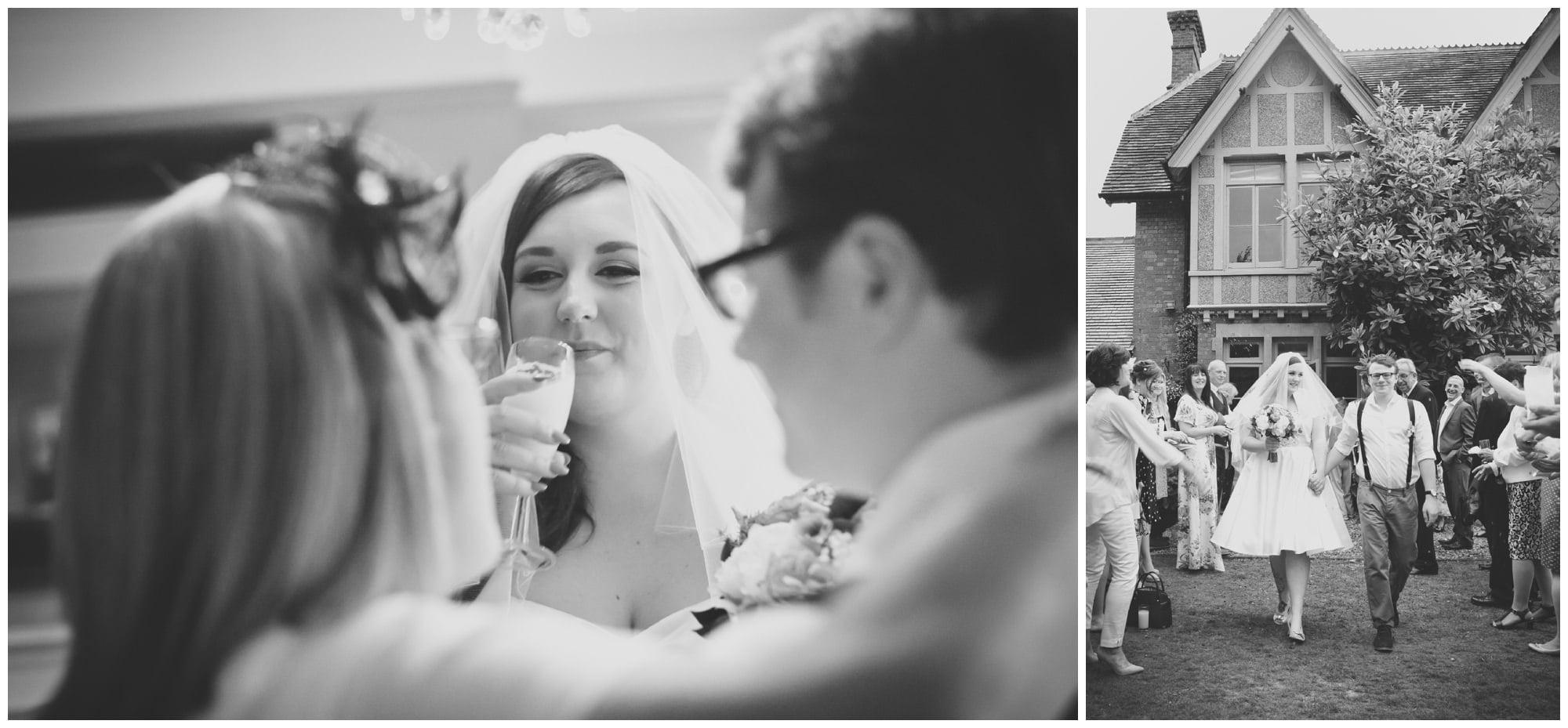 Weddings at The Old Vicarage Hinton