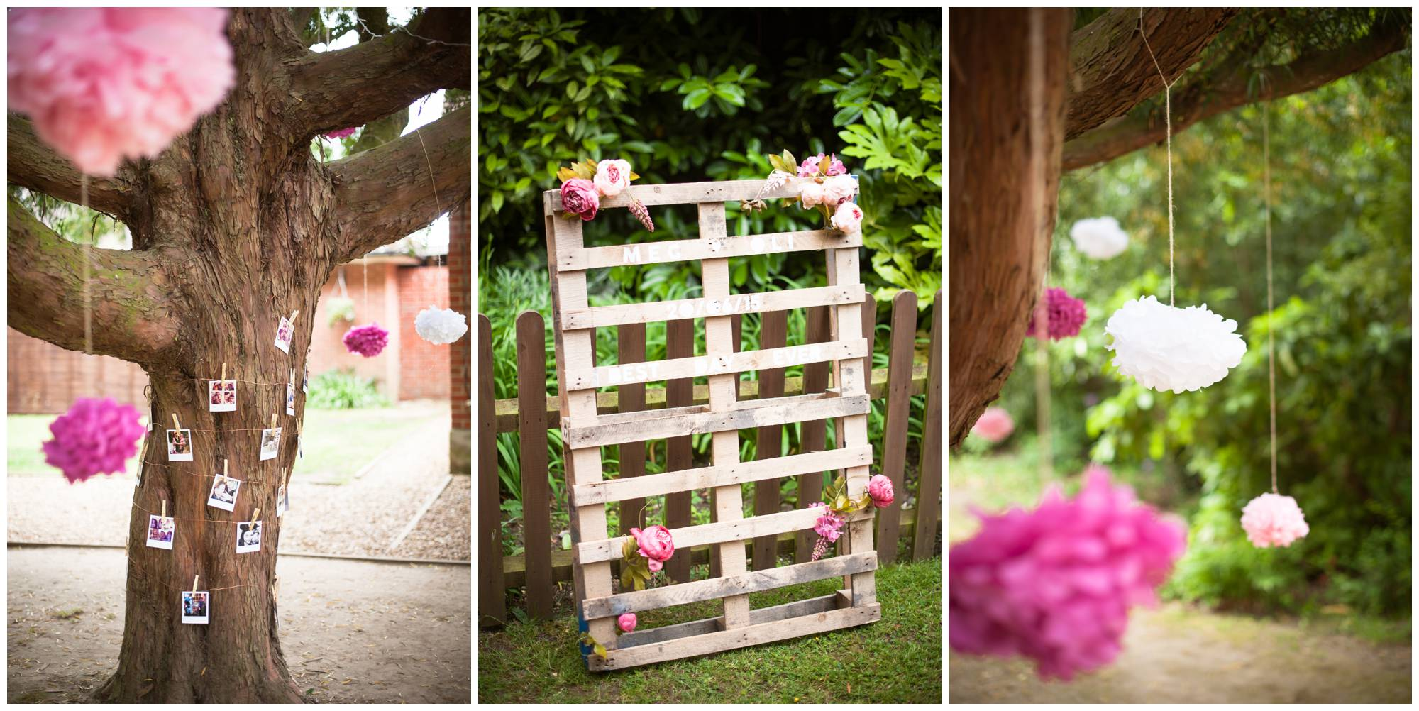 Pink DIY Decor at The Old Vicarage