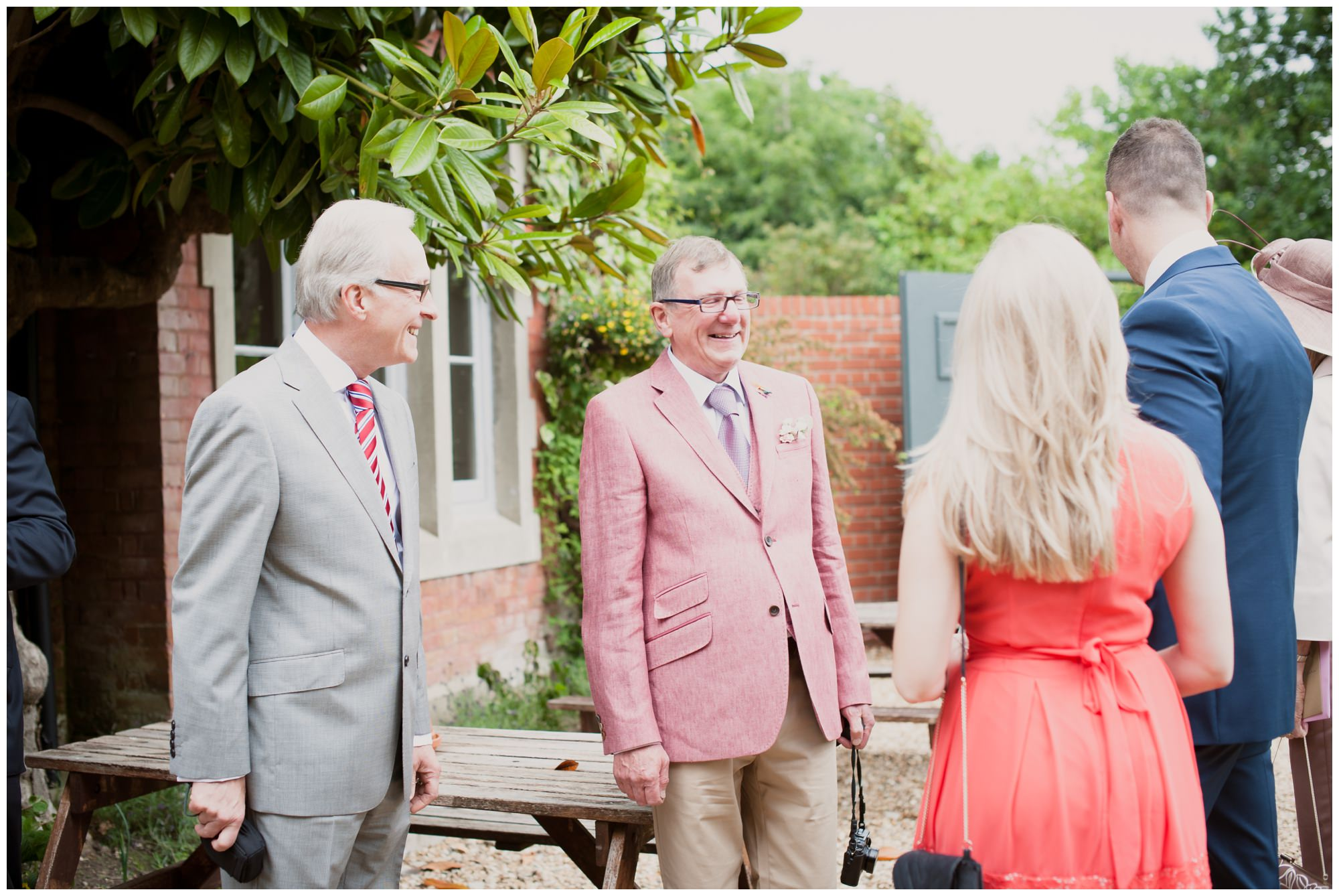 Father of Groom at The Old Vicarage