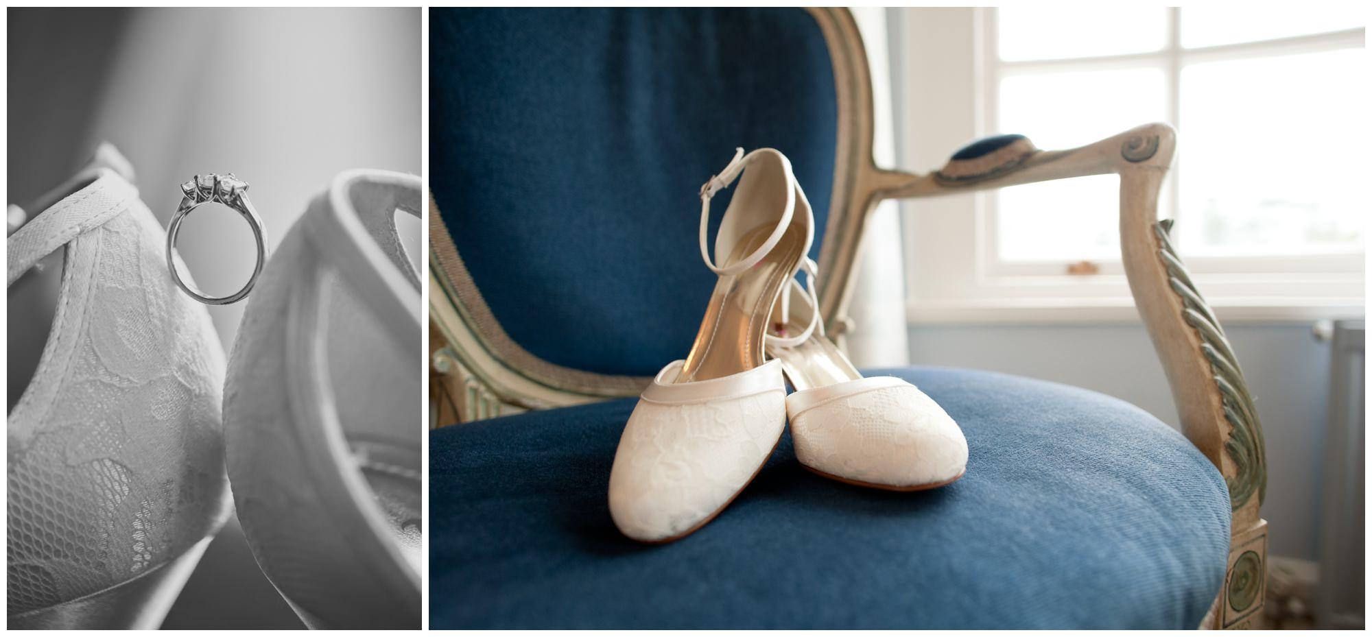 Photograph of Hampshire Bride's Shoes