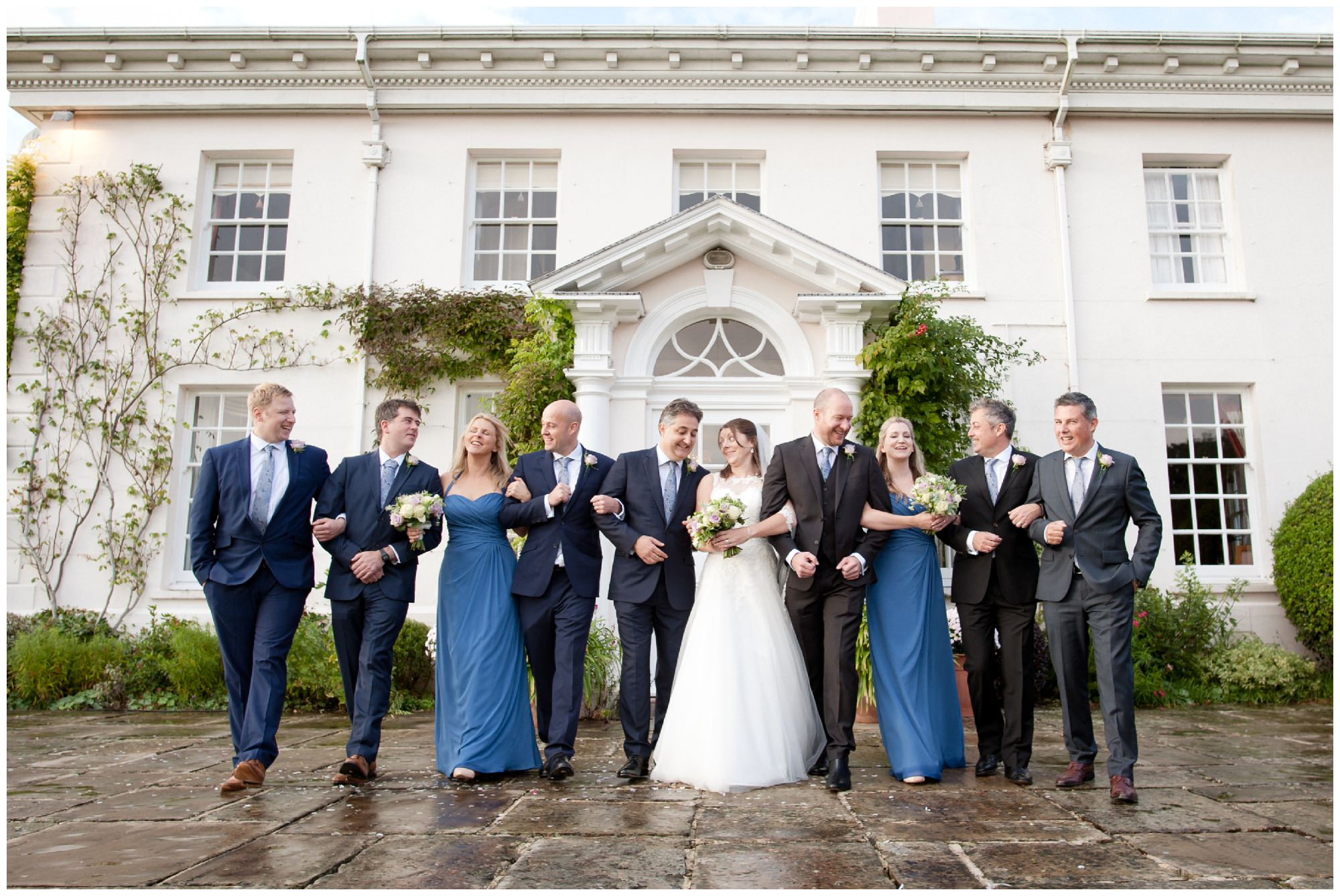 Wedding Group Photography in Hampshire