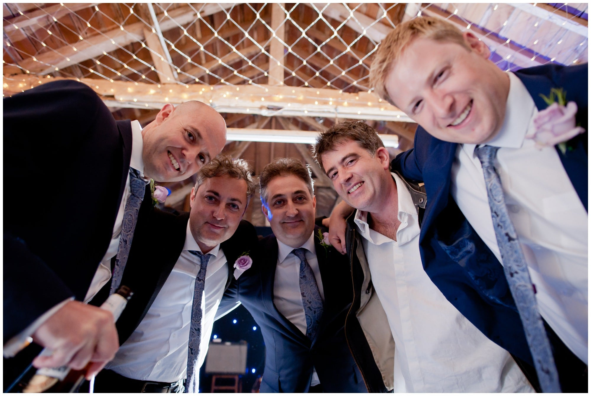 Photography of Groom's Band