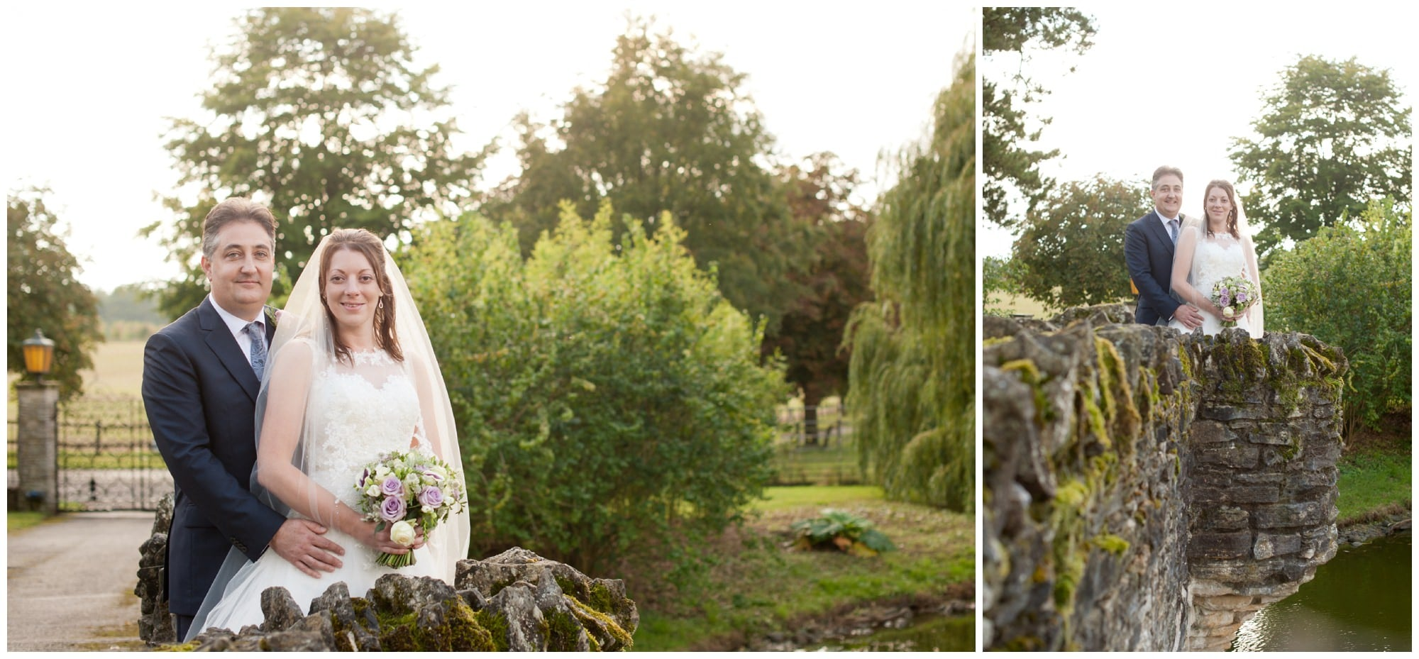 Bride and Groom Portraits at Hampshire Family Estate