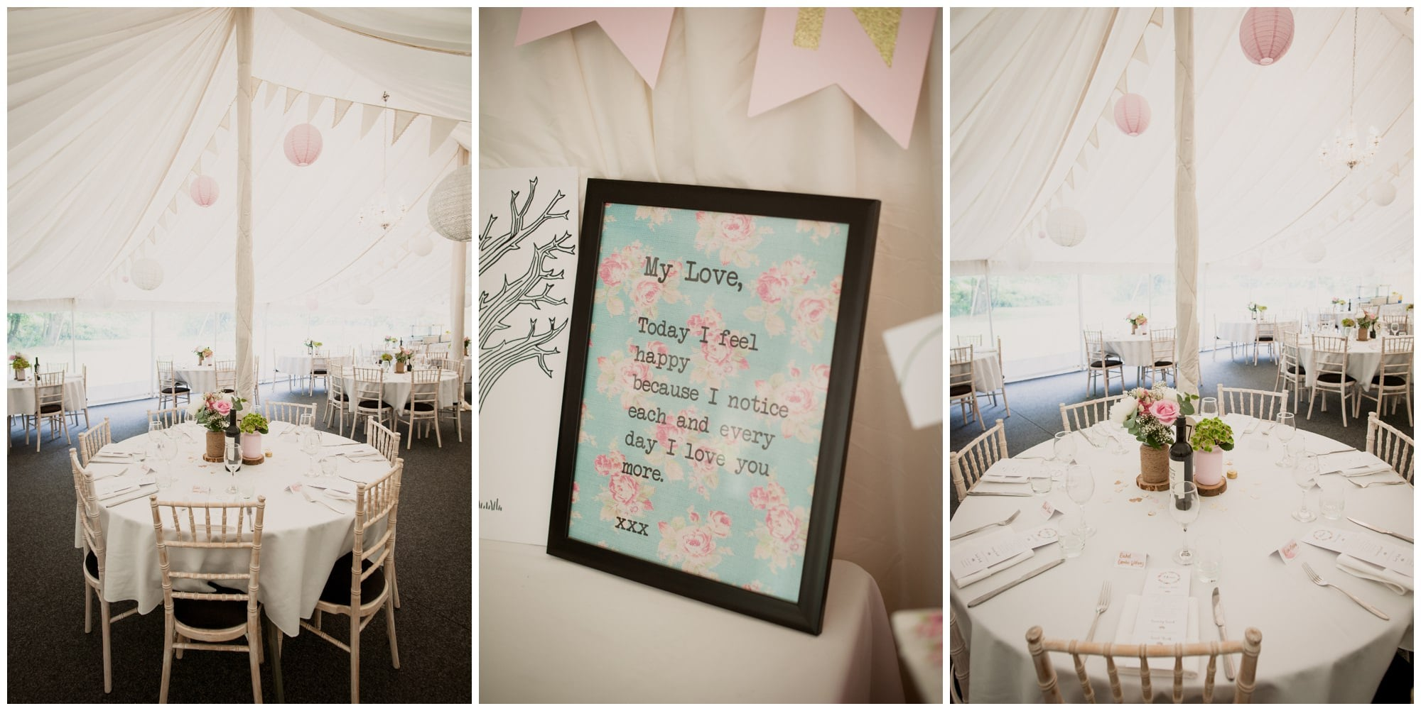 Marquee at The Old Vicarage