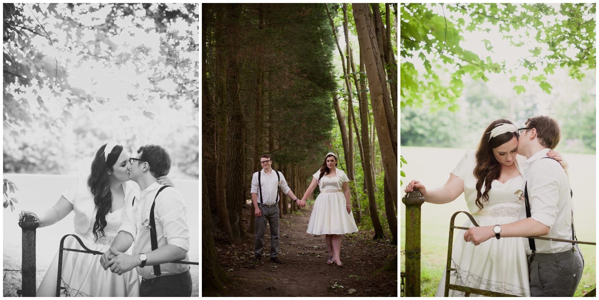 Couple portraits at The Old Vicarage