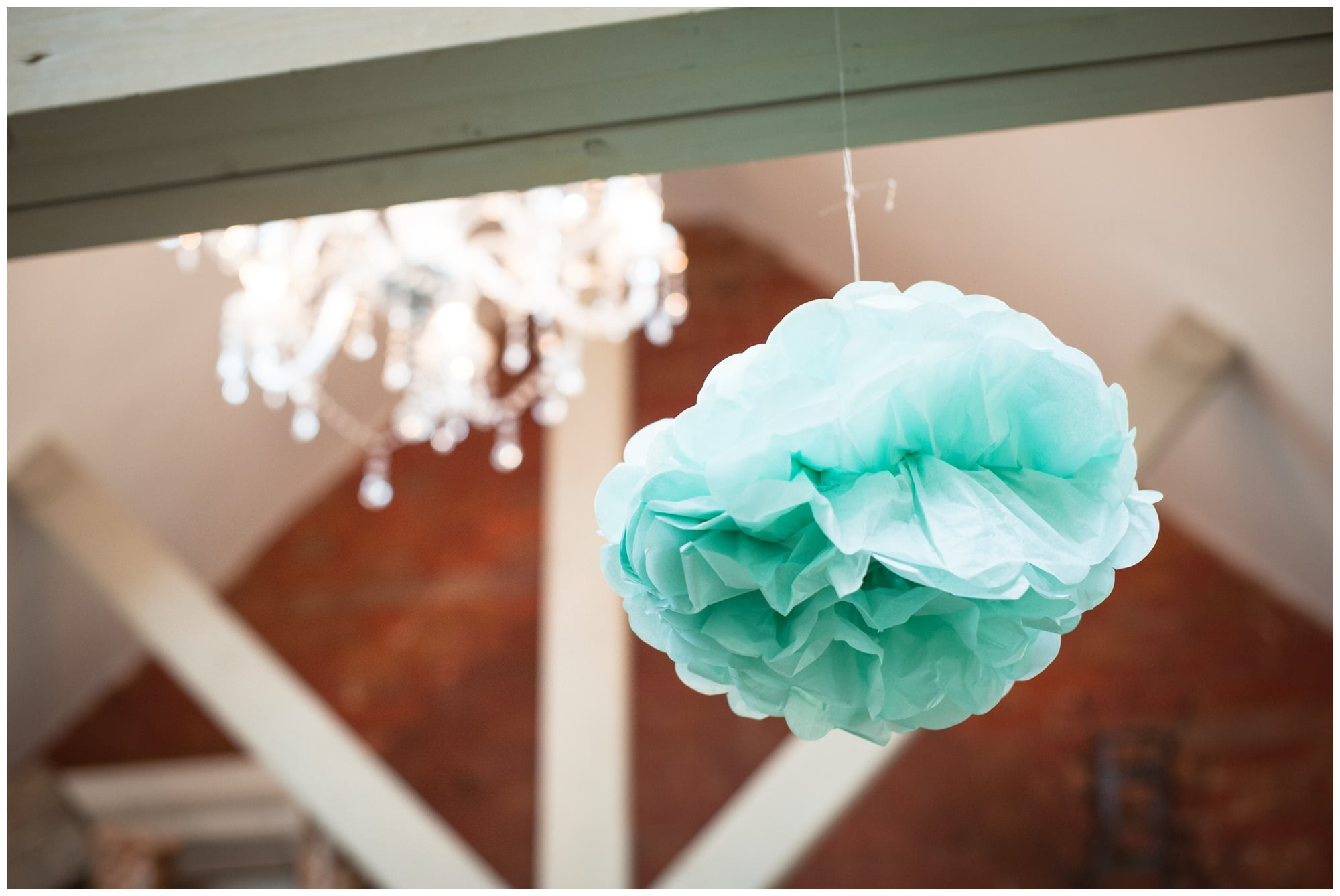 DIY Pompom decor at Barn