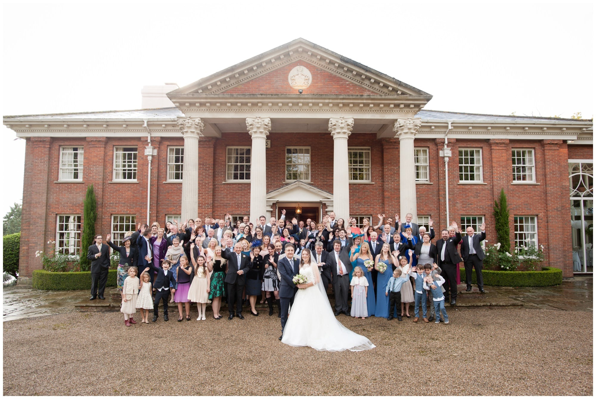 Group Photograph at Roundwood Estate