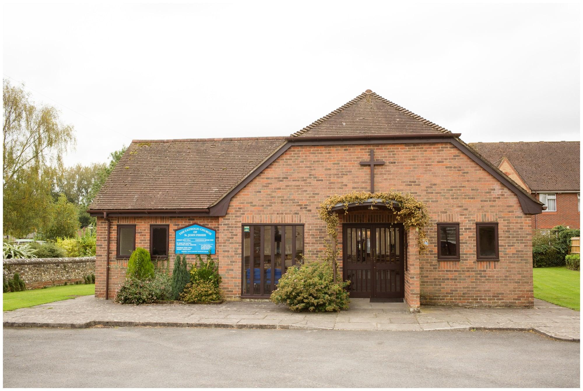 Saint John Fisher Church in Whitchurch