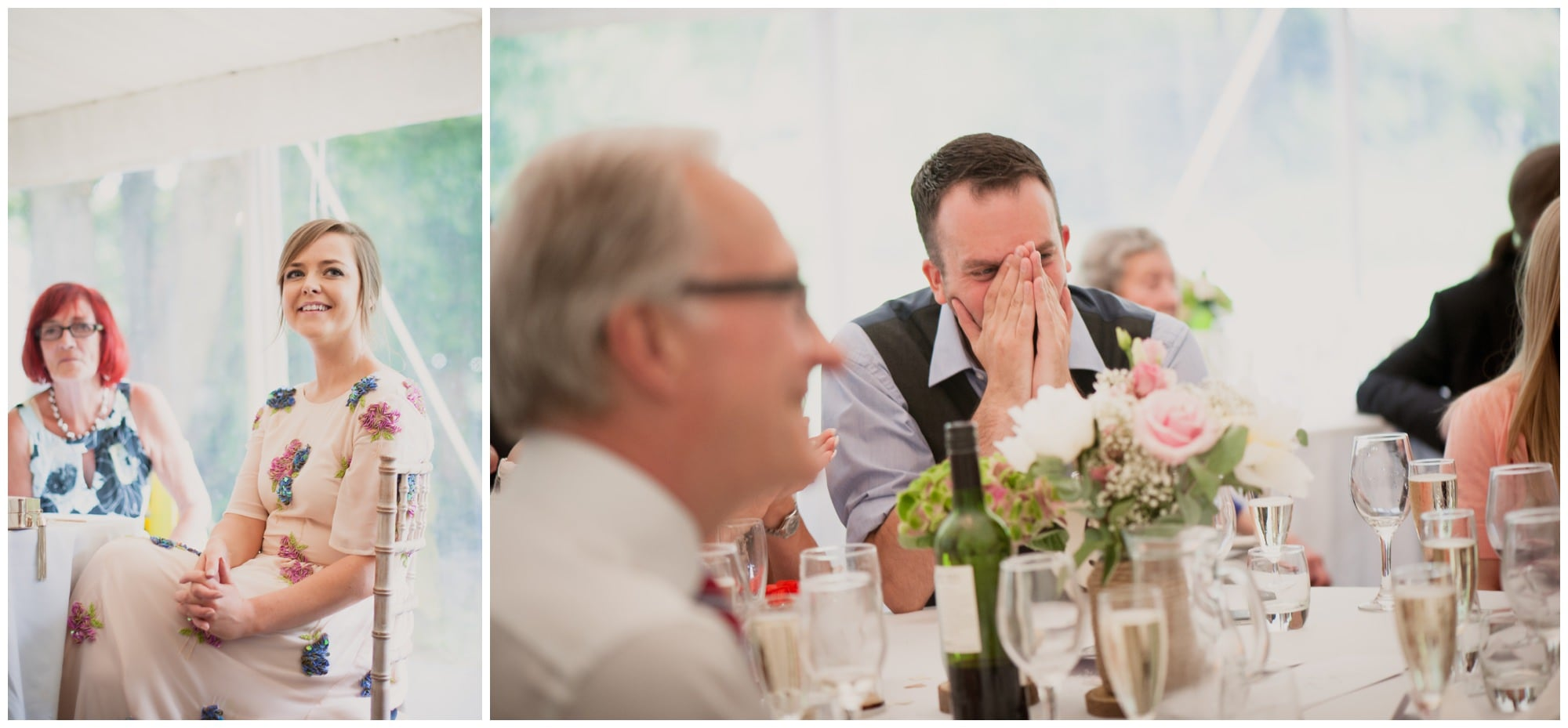 Speeches at The Old Vicarage