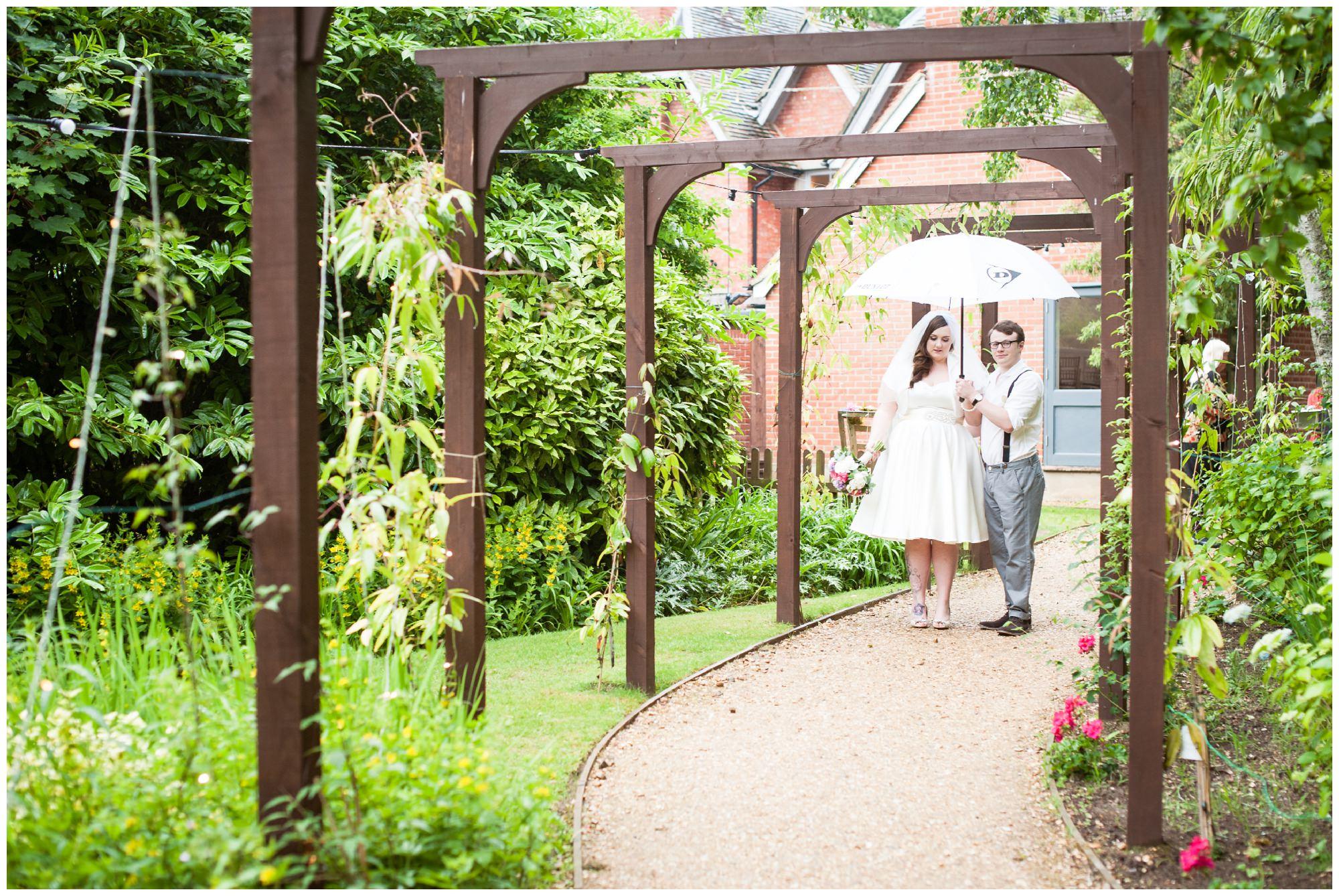 Rain on Christchurch Wedding Day
