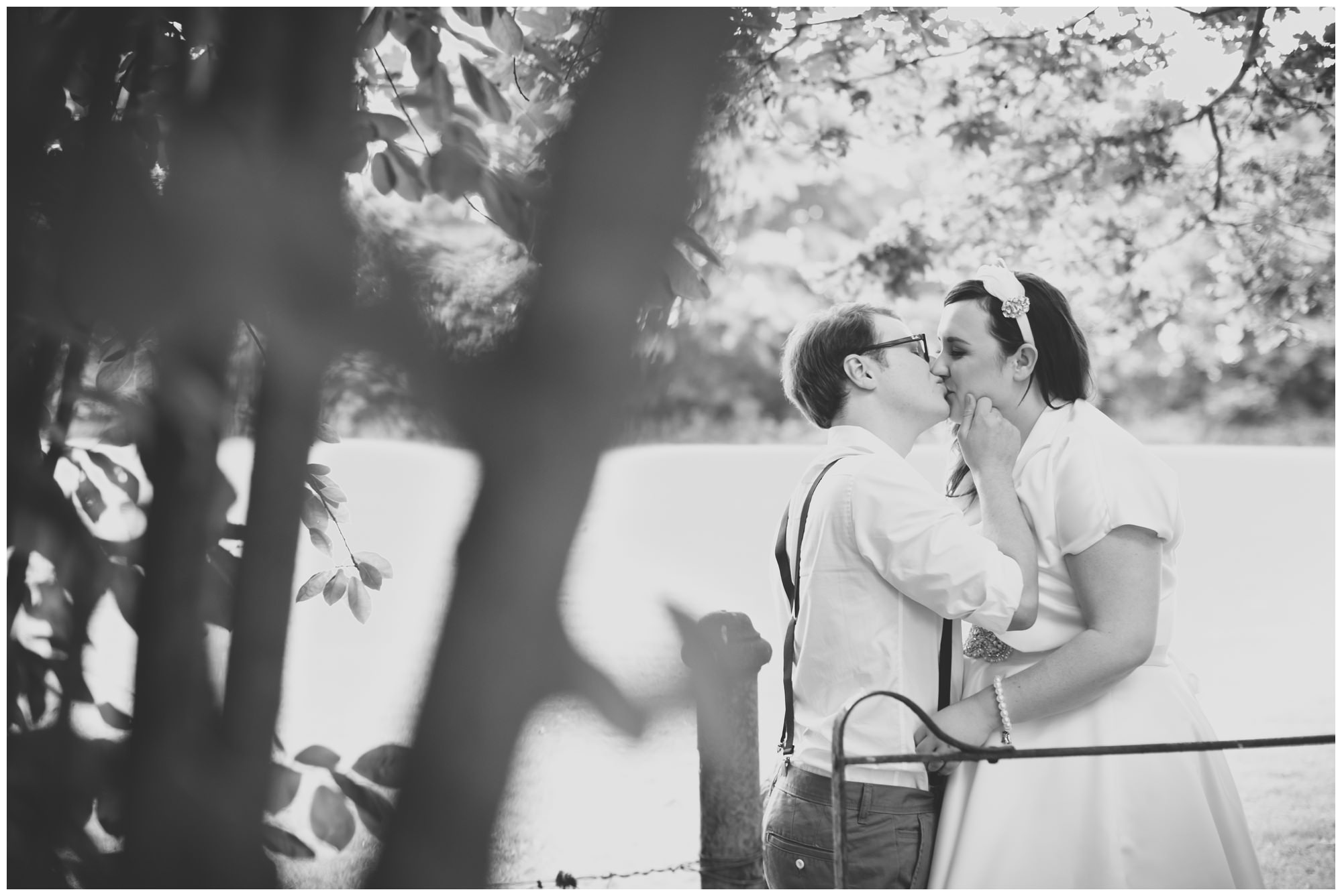 Black and white photography at The Old Vicarage
