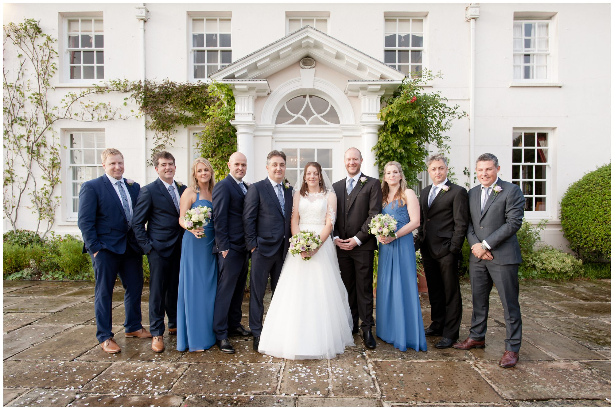 Bridal Party at Hampshire Wedding
