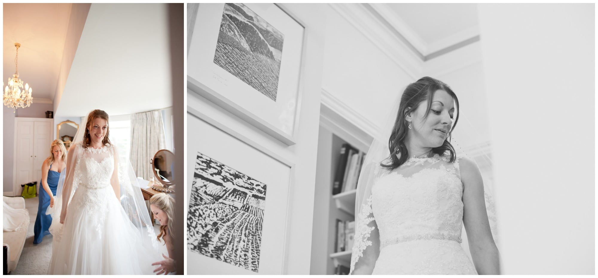 Documentary Photography of Hampshire Bride