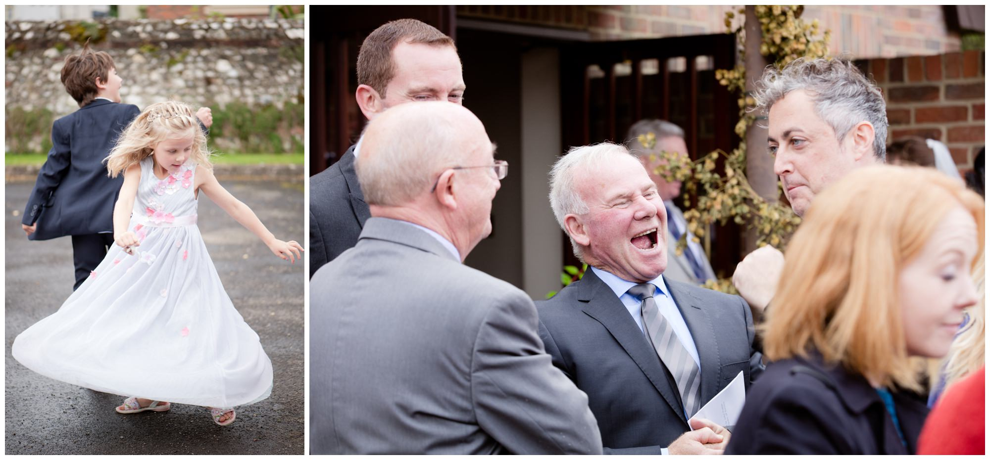 Guests at Whitchurch Wedding