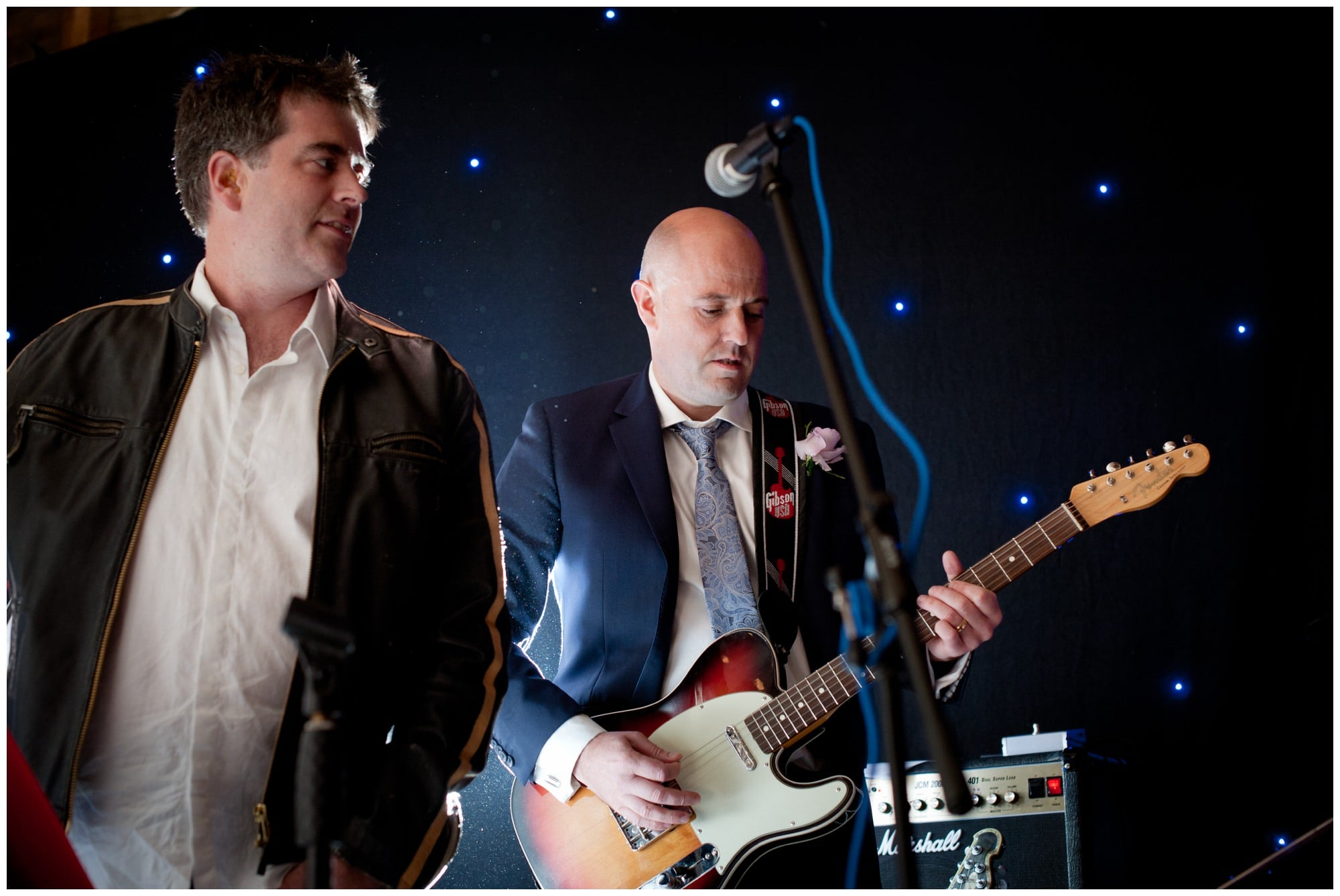 Guitarist at Hampshire Wedding