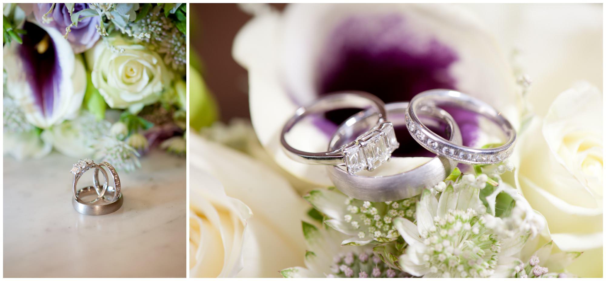 Wedding Rings at Hampshire Wedding