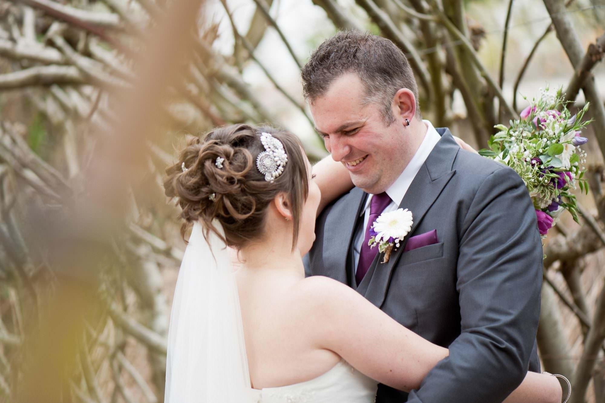 Groom at Christchurch Wedding