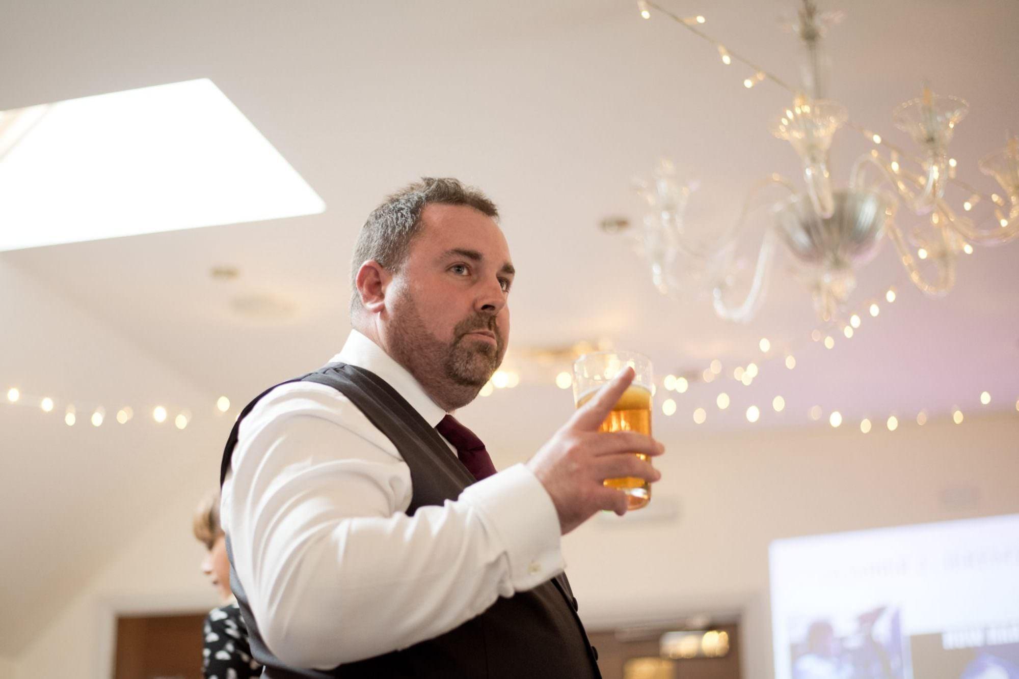 Best Man Speech at Kings Arms Hotel Wedding
