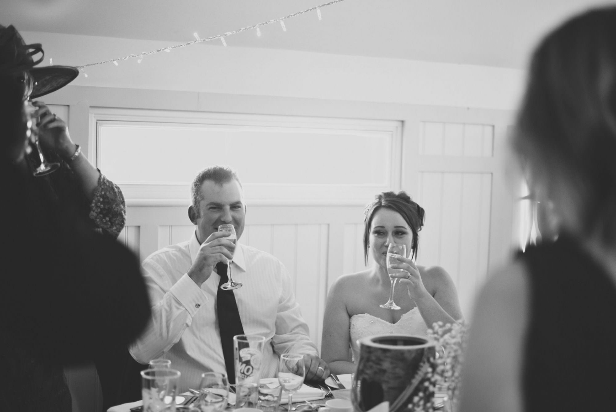 Bride Groom Toast - Rachel Elizabeth Photography - Wedding