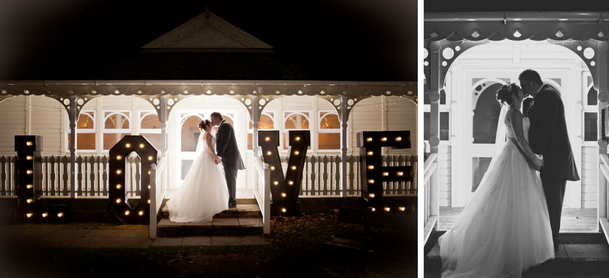 LOVE letters by Simply Flower at Kings Arms Hotel Christchurch