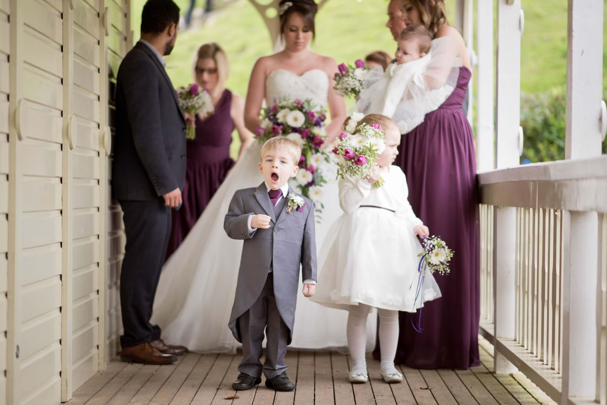 Natural documentary photography at Kings Arms Hotel Wedding