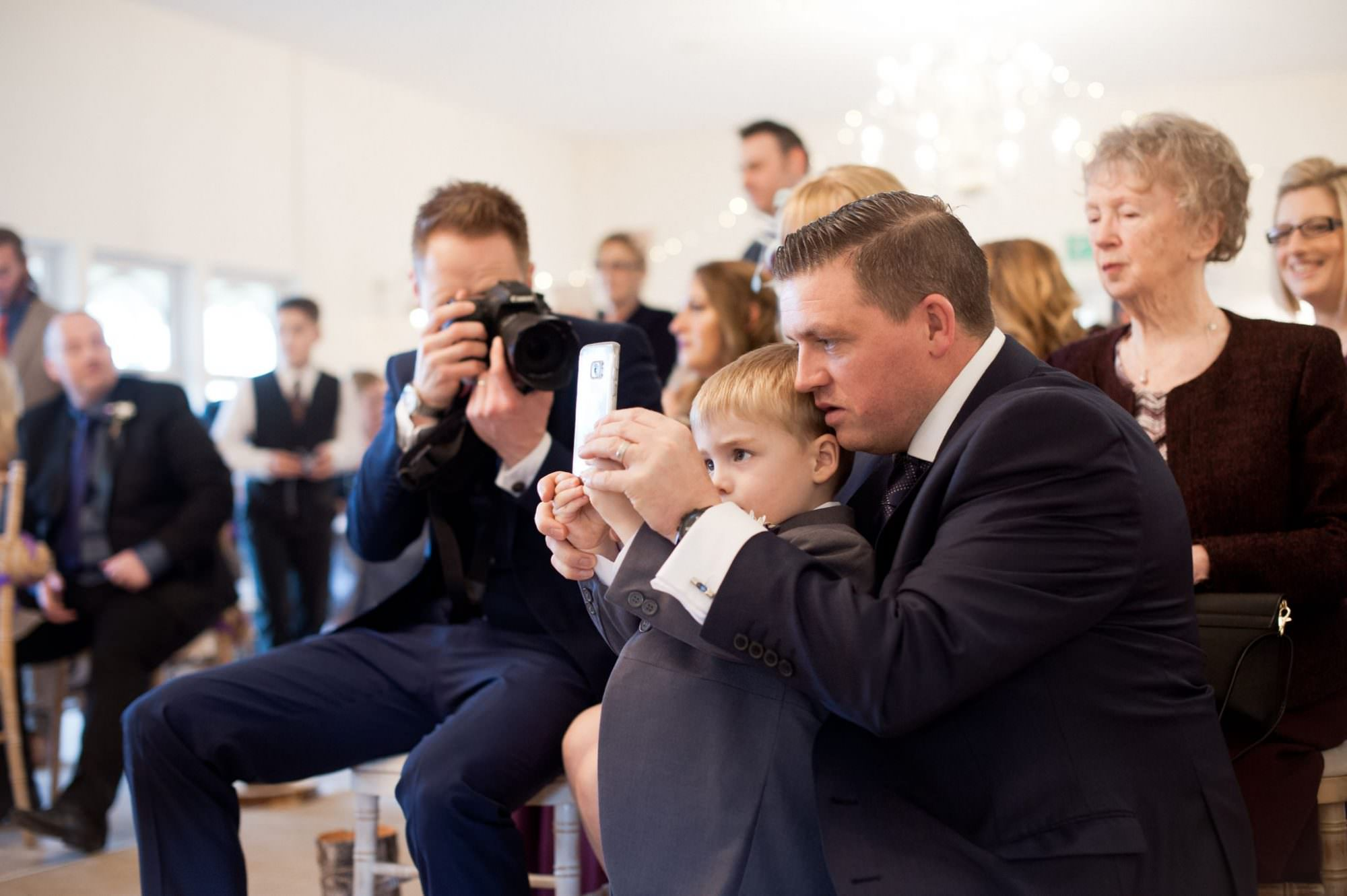 Pageboy at Kings Arms Hotel Wedding