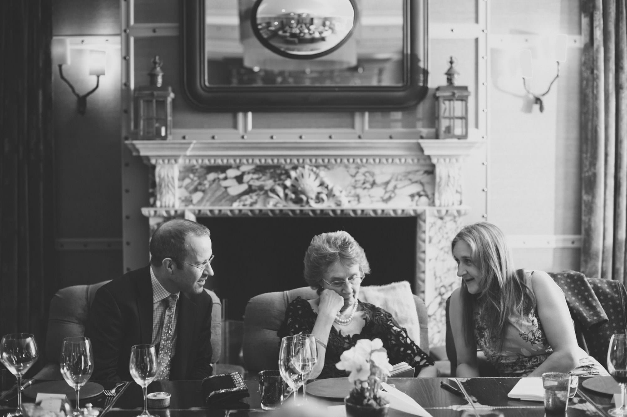 Birthday photographs at New Forest Hotel