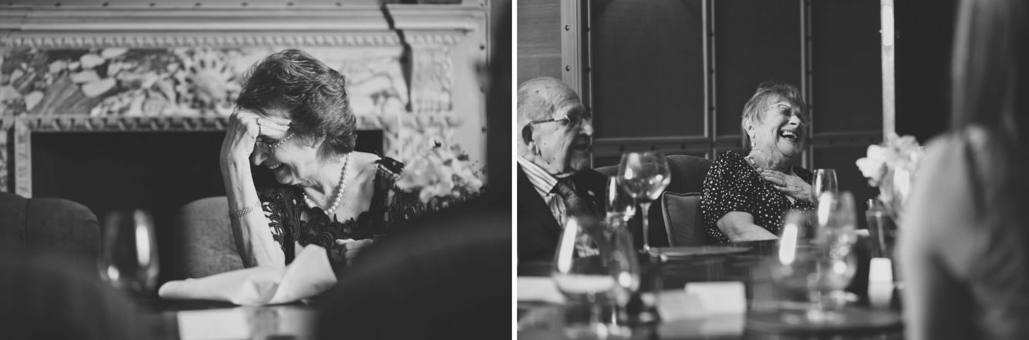 Black and white lyndhurst event photography