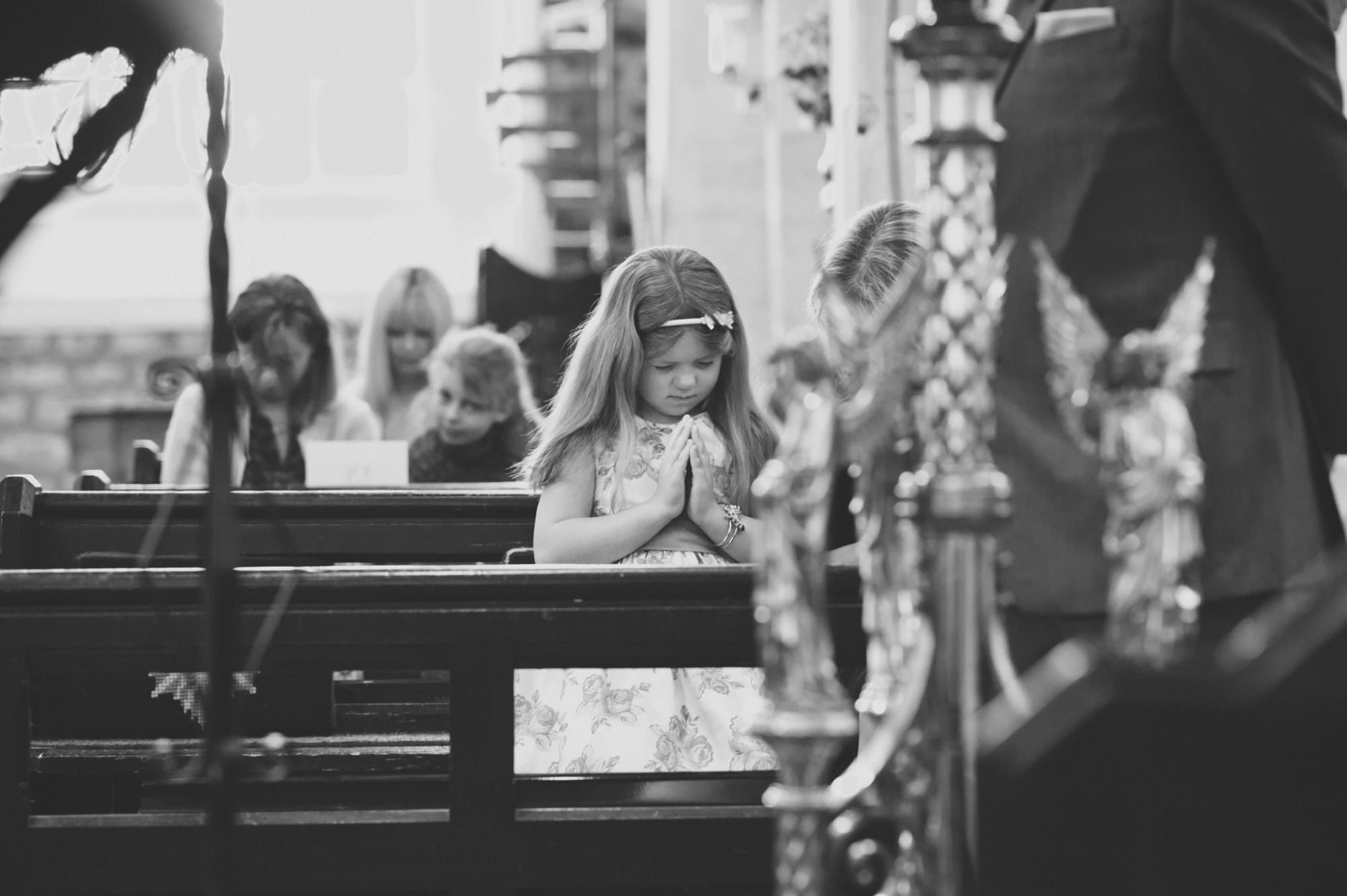 Child photography at Sopley Church