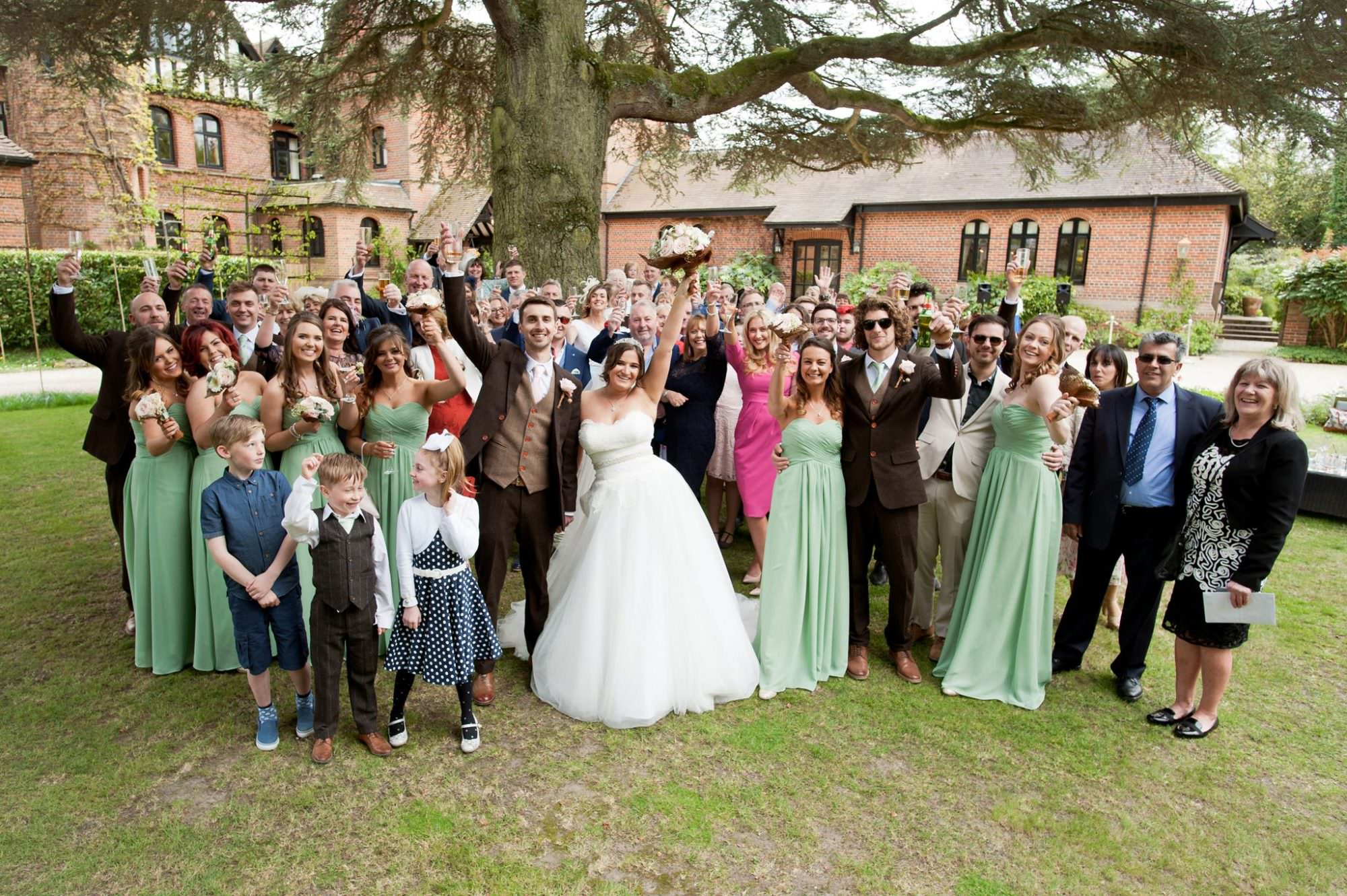 Group Photograph at Careys Manor