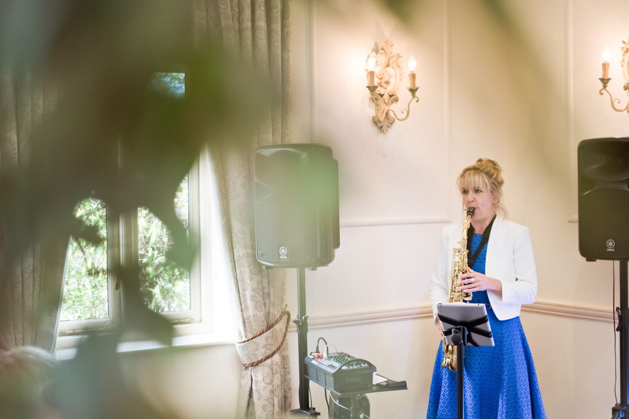 Saxophone Player for Hampshire Weddings