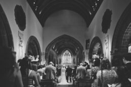 Dorset Wedding at Canford magna church