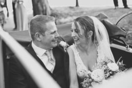 Dorset wedding photographer at Canford magna church