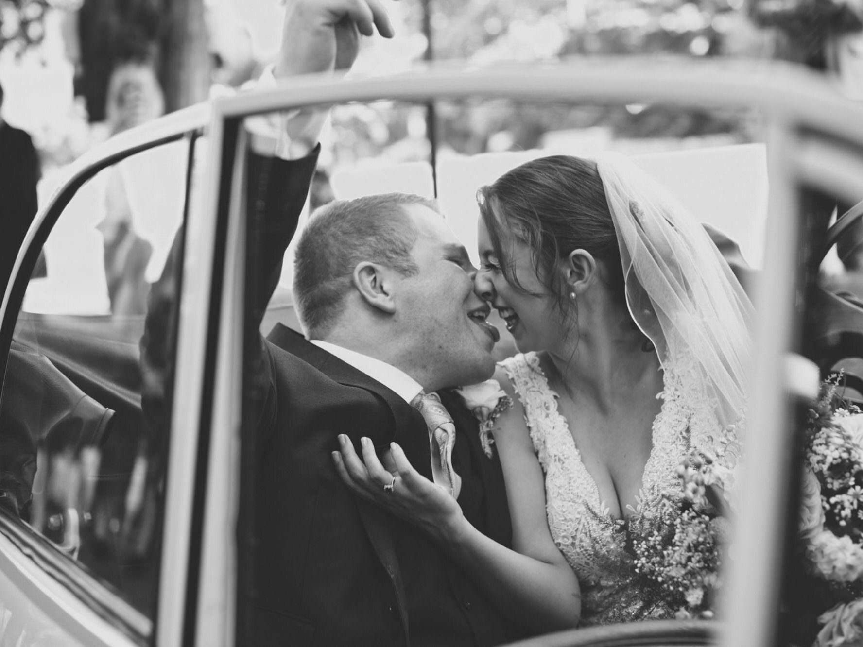 Fun dorset wedding photography