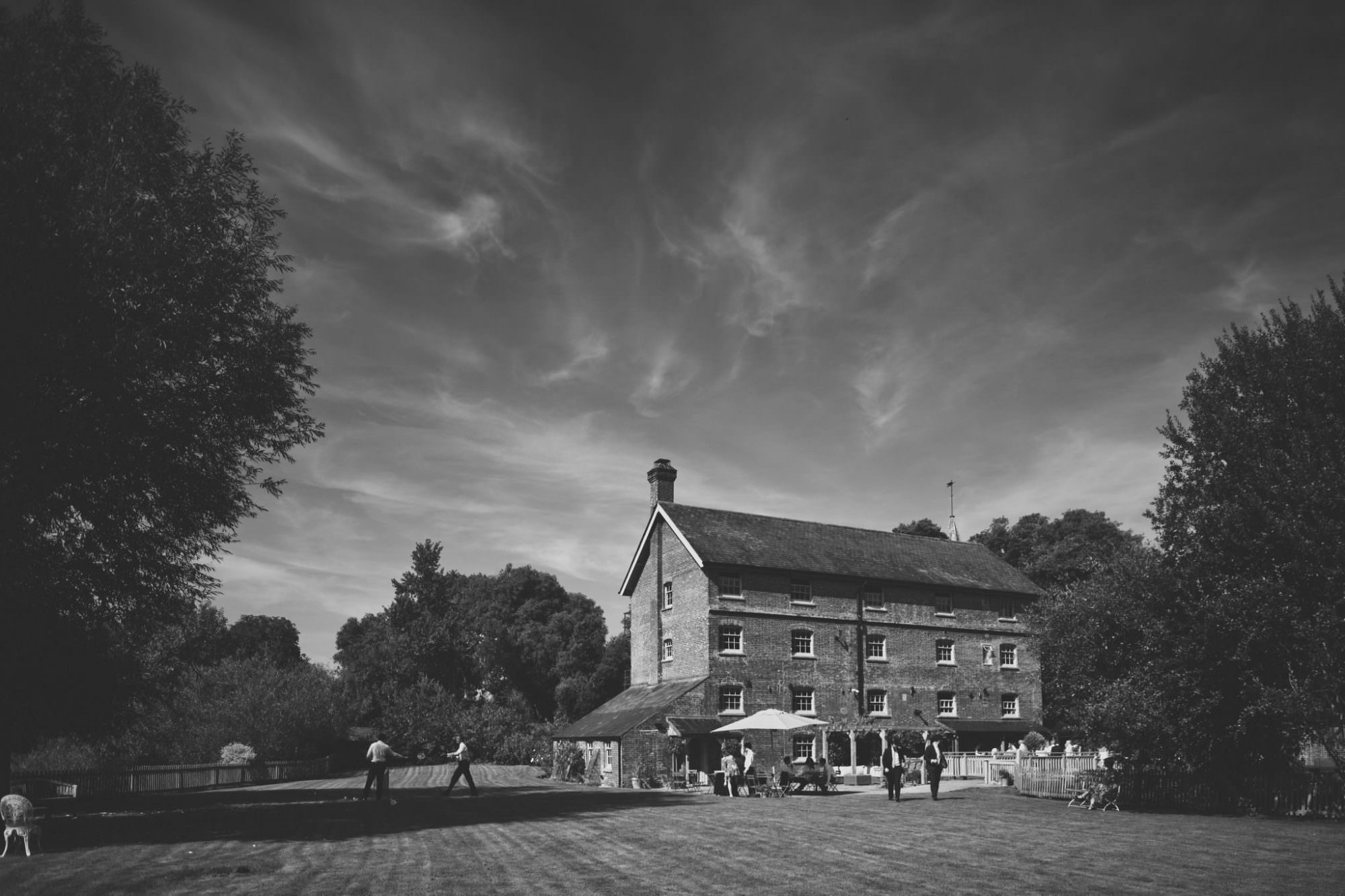 Photograph of Sopley Mill wedding venue in Dorset