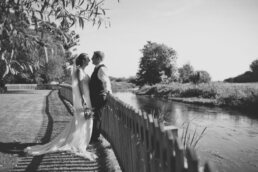 Wedding near Sopley Lake
