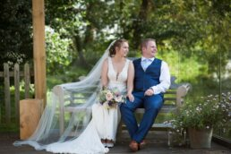 Beautiful english garden wedding in Dorset