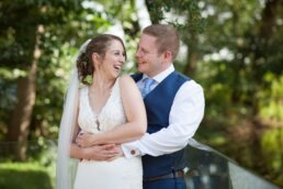 Bright wedding photography at Sopley Mill