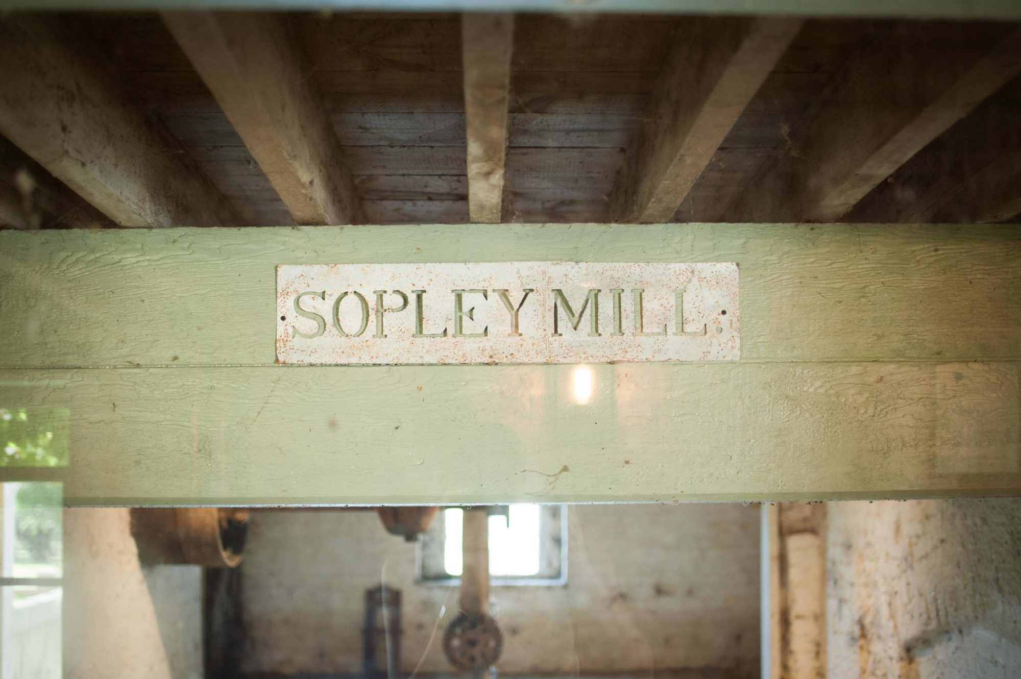Wedding signs at Sopley Mill