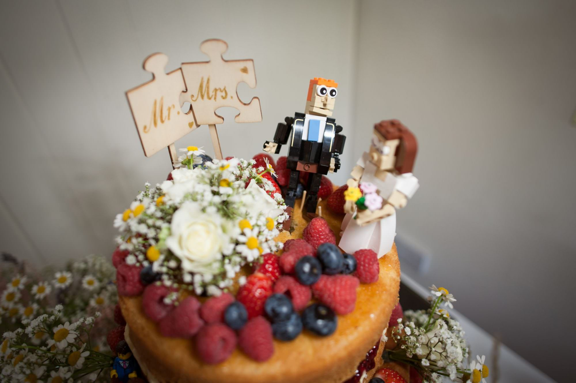 Lego Cake toppers at Sopley Mill