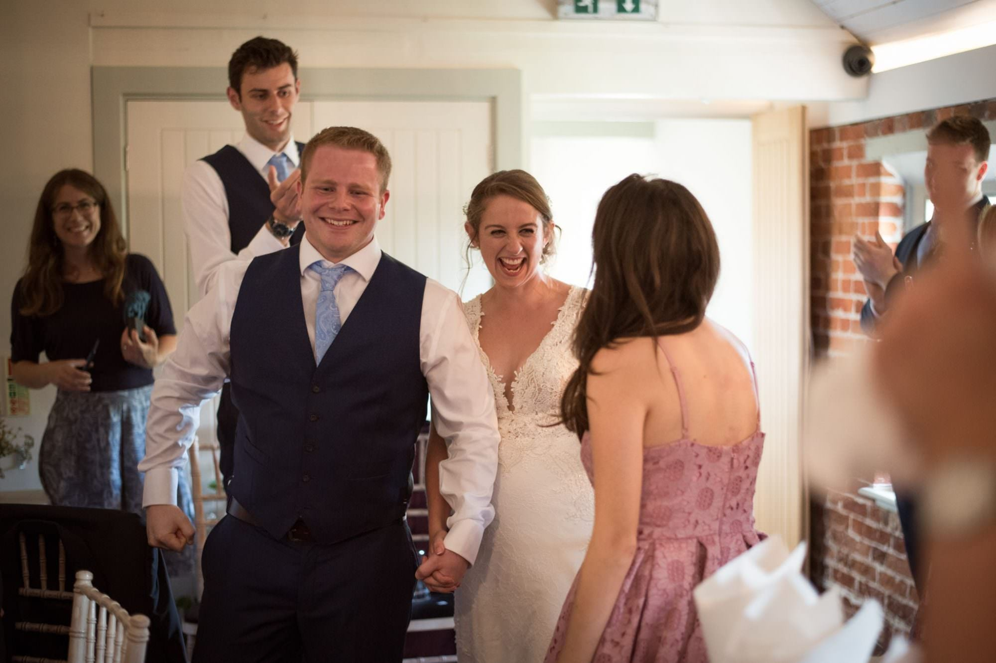 Sopley Mill wedding breakfast
