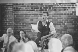 Sopley Mill speeches for Dorset wedding