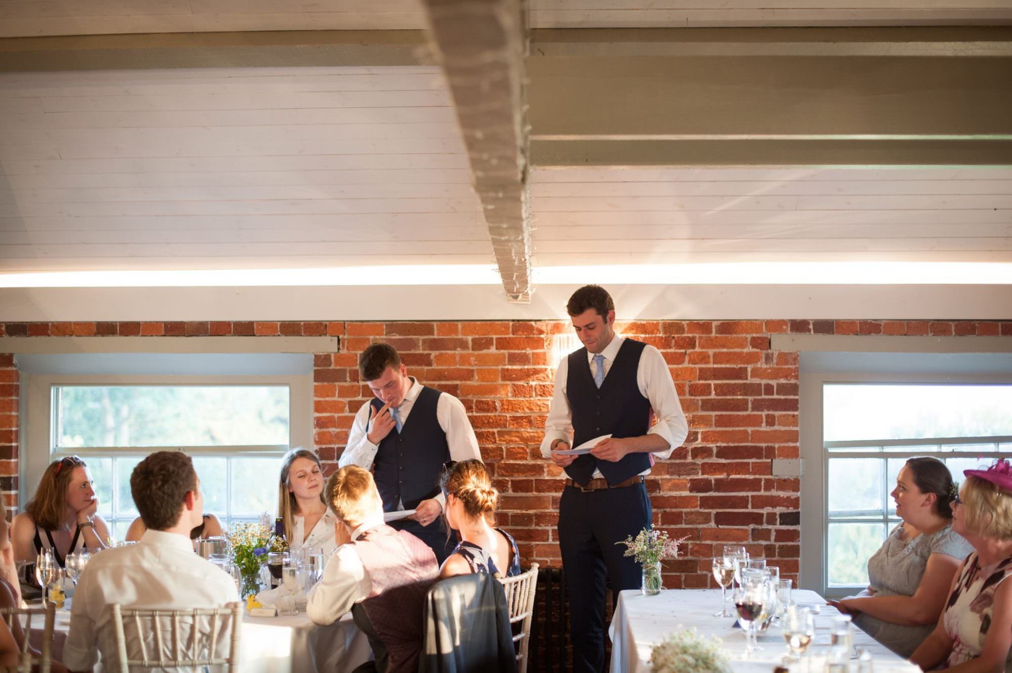 Best Men speech at Sopley Mill wedding