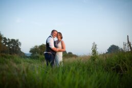 Golden hour photographs at Sopley Mill and Canford Magna Church