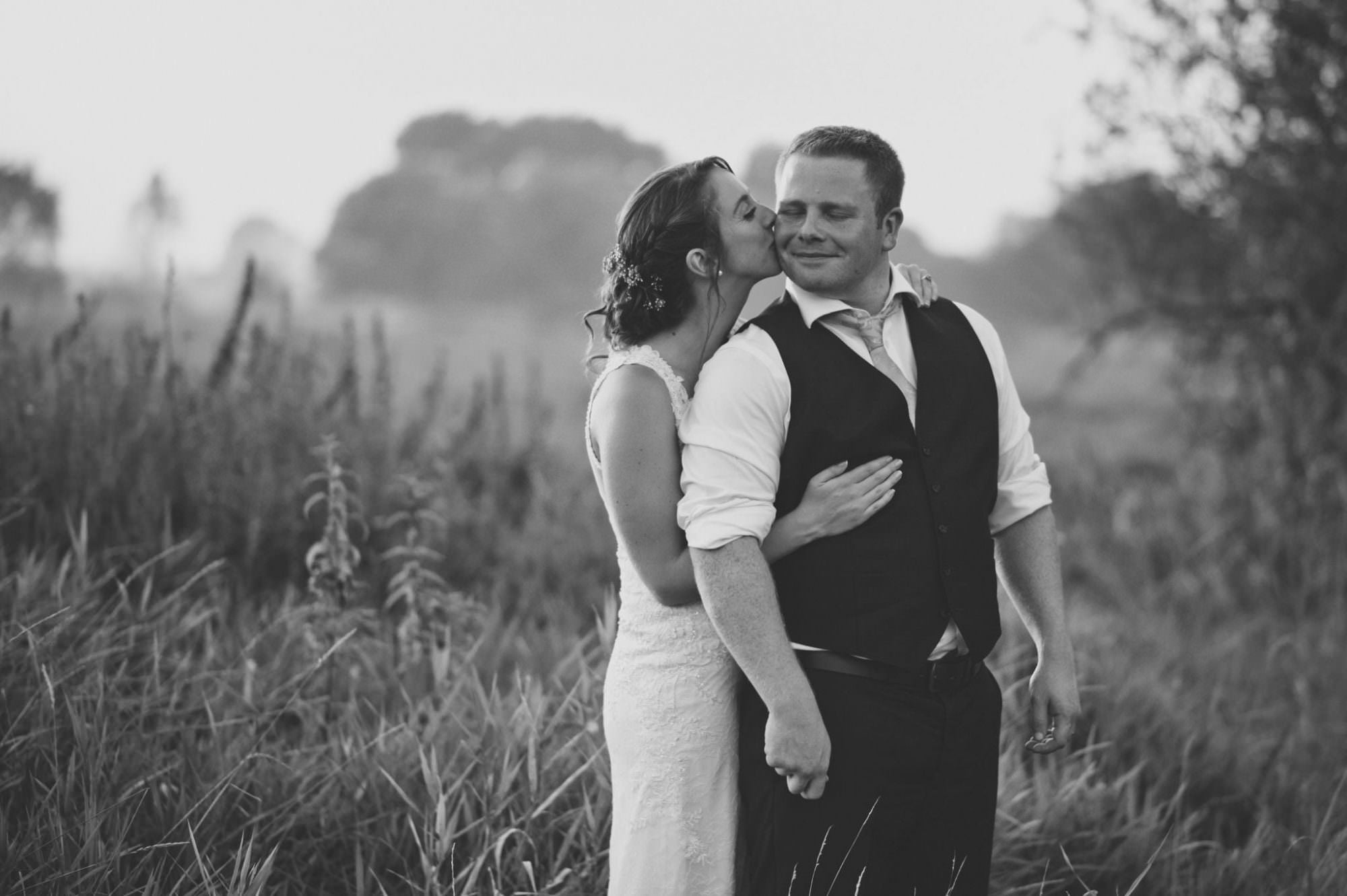 Black and white photography at Sopley Mill wedding