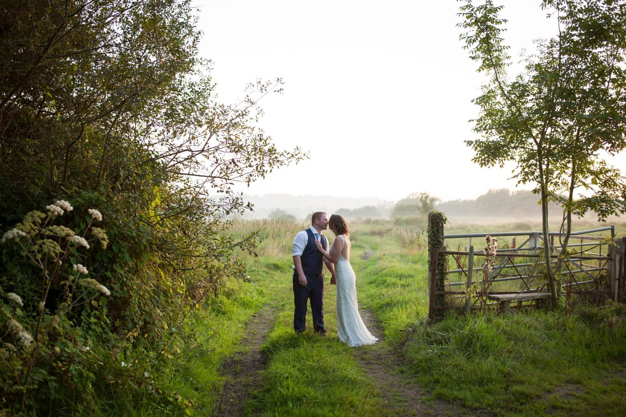Wedding Photography at Sopley, Dorset
